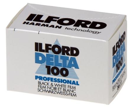Ilford Delta 100 Professional - film alb-negru negativ ingust (ISO 100, 135-36)