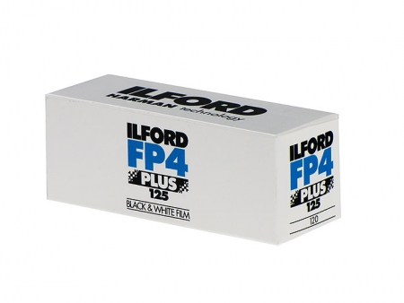 Ilford FP4 PLUS - film alb-negru negativ lat (ISO 125, 120)