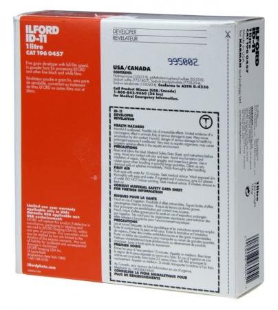 Ilford ID-11 - Revelator Solid Film alb-negru pentru 1L solutie