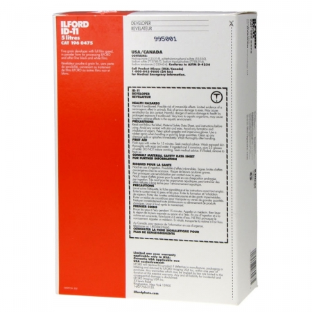 Ilford ID-11 - Revelator Solid Film alb-negru pentru 5L solutie