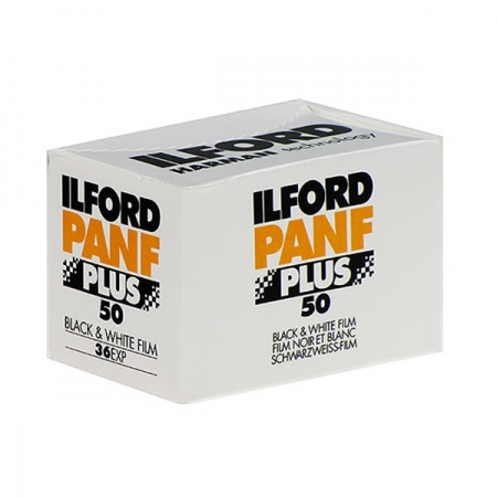 Ilford PAN F PLUS - film alb-negru negativ ingust (ISO 50, 135-36)
