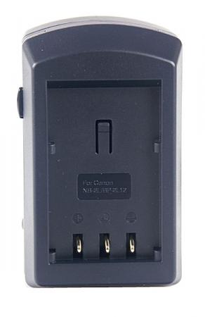 Incarcator compact de acumulatori tip NB-2L,NB-BP2L12/L14 pentru Canon (ACMP234E).