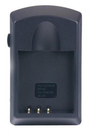 Incarcator compact pentru acumulator Li-Ion tip DLi-102 pentru Benq.( Cod ACMP40).