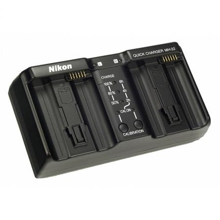 Incarcator rapid pentru acumulatori Nikon Li-ion tip EN-EL4/ EN-EL4A. MH-22.