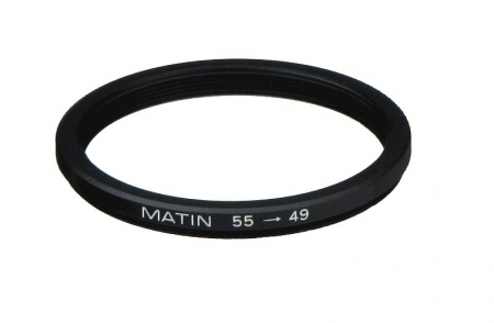 Inel reductie Step-down Metalic 55-49mm