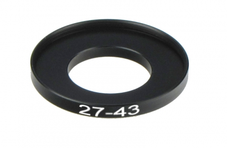 Inel reductie Step-up metalic de la 27-43mm