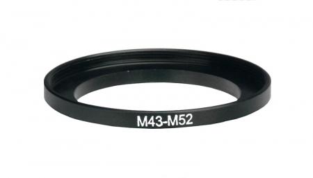 Inel reductie Step-up metalic de la 43-52mm