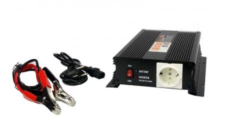 Invertor tensiune 12V - 230V 50Hz (600W)