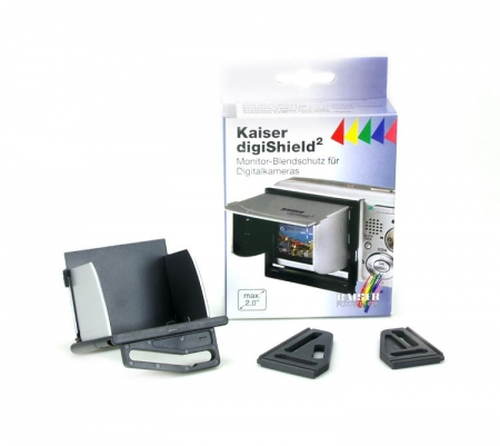 Kaiser digiShield 6073 - parasolar pentru ecranul LCD (max. 2.0 inch)