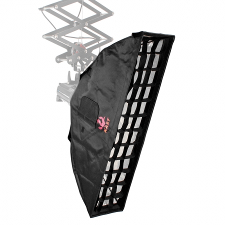 Kast KEC-2290 - softbox strip cu grid 22x90cm montura Elinchrom