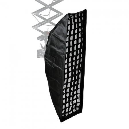 Kast KEC-35140 - softbox strip cu grid 35x140cm + inel Elinchrom
