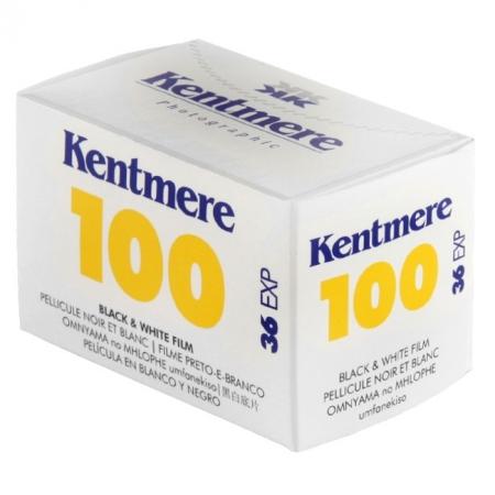 Kentmere 100 - film alb-negru negativ ingust (ISO 100, 135-36)
