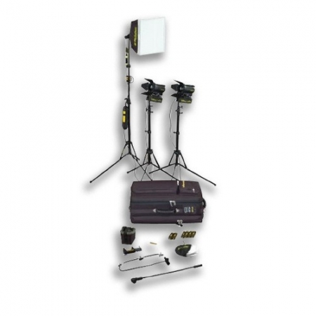 Kit Lumini Dedolight 3 x 150w Tungsten