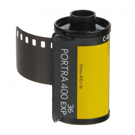 Kodak PORTRA 400 NEW 135 -film foto ingust ISO400 color, 36pozitii