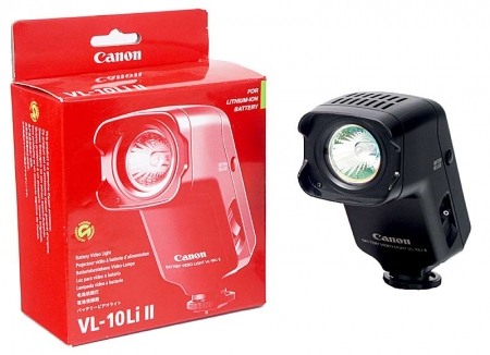Lampa video cu bec halogen 10W.Canon VL-10LiII