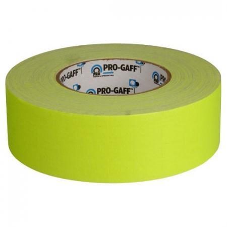 LeMark Fluo Pro-Gaff galben 48mm - banda adeziva