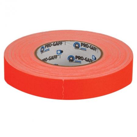 LeMark Fluo Pro-Gaff portocaliu 24mm - banda adeziva