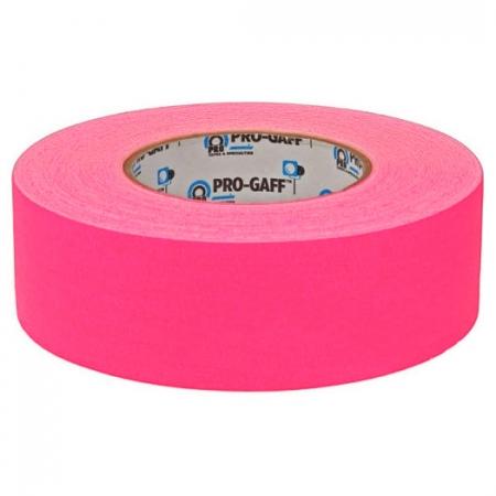 LeMark Fluo Pro-Gaff roz 48mm - banda adeziva