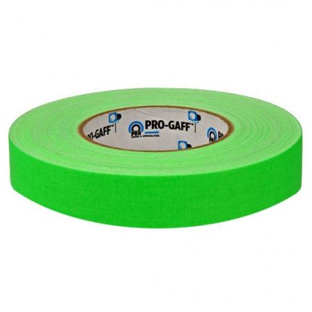 LeMark Fluo Pro-Gaff verde 24mm - banda adeziva