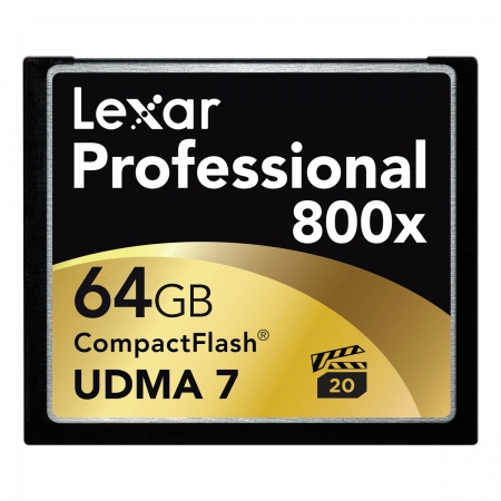 Lexar Professional CF 64GB  800X UDMA 7