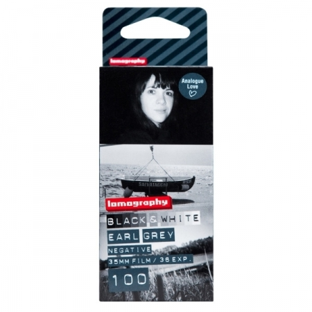 Lomography Earl Grey 100 -  film negativ alb-negru ingust (ISO 100, 135-36) pachet 3 filme