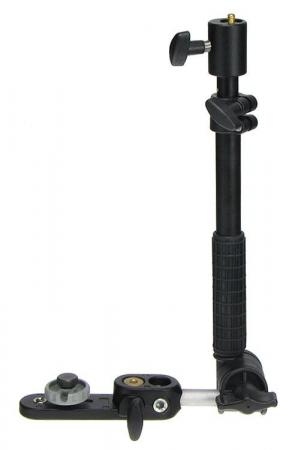 Manfrotto 233B - Bracket telescopic cu maner pentru blitz