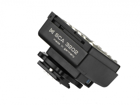 Metz SCA 3202 M6 - adaptor SCA pentru aparatele Olympus, Leica si Panasonic
