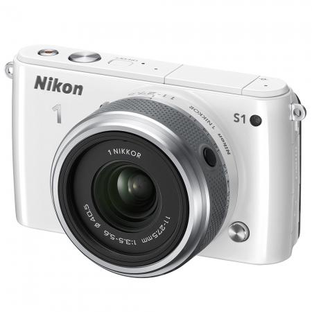 Alegerea echipamentului fotografic, în funcție de buget și necesități.    Episodul 3. Aparate mirrorless, rangefinder şi pe film Nikon-1-s1-kit-11-27-5mm-f-3-5-5-6-vr-alb-25200
