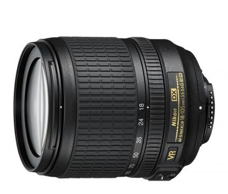 Alegerea echipamentului fotografic, în funcție de buget și necesități. Episodul 4. Obiective pentru DSLR-uri Nikon-18-105mm-f-3-5-5-6g-afs-vr-dx-7854-1
