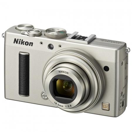 Nikon lansează Coolpix A, primul aparat compact cu senzor APS-C Nikon-coolpix-a-argintiu-25993-4