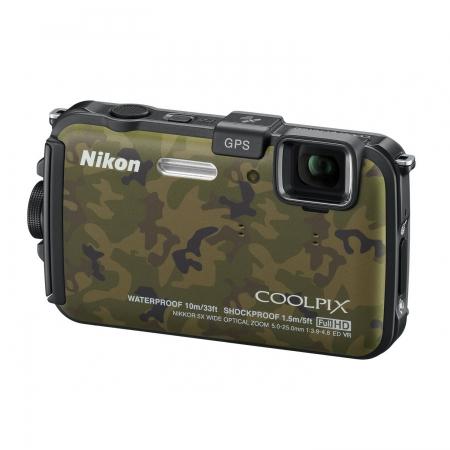 Alegerea echipamentului fotografic, în funcție de buget și necesități. Episodul 1. Aparate compacte Nikon-coolpix-aw100-camuflaj-19737-1