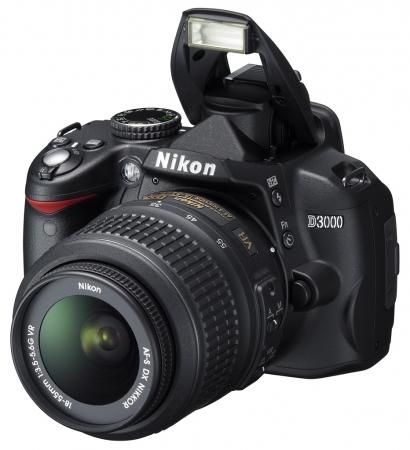 Nikon D3000 kit AF-s 18-55mm f/3.5-5.6 G VR