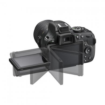 Alegerea echipamentului fotografic, în funcție de buget și necesități.  Episodul 2. Aparate DSLR Nikon-d5200-negru-af-s-dx-18-55mm-f-3-5-5-6-g-vr-24330-14
