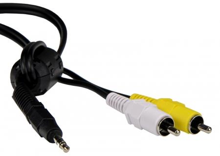 Nikon EG-D2  Cablu Audio Video pentru D80, D90, D3, D3X
