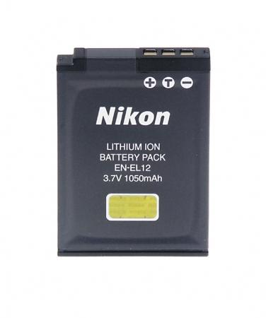 Nikon EN-EL12 - acumulator pentru modele Coolpix, 1050mAh