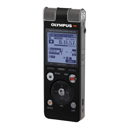 Olympus DM-670 - reportofon