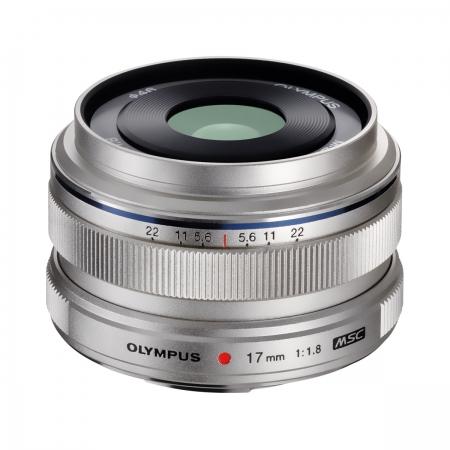 Olympus M.ZUIKO DIGITAL 17mm f/1.8 EW-M1718 argintiu