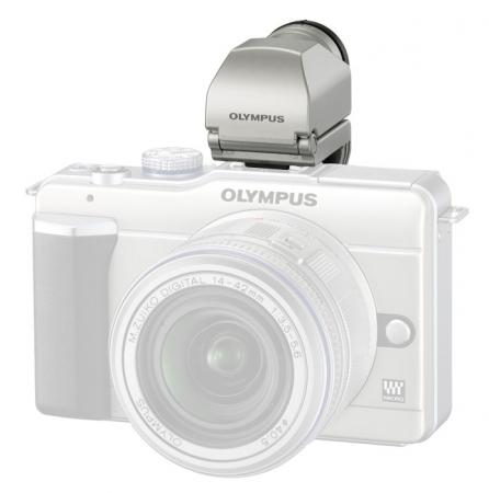 Olympus VF-2 argintiu - Vizor digital pentru Olympus E-PL1, E-P2