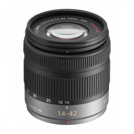 Panasonic 14-42mm f/3.5-5.6 ASPH MEGA O.I.S. LUMIX G Vario (H-FS014042E) - pentru Micro4/3