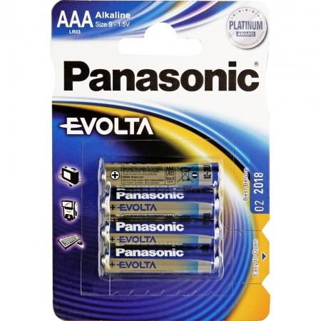 Panasonic Evolta AAA - set 4 baterii alcaline