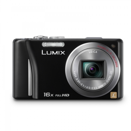 Panasonic Lumix DMC-TZ20 negru - 14MP, zoom 16x, touchscreen, GPS