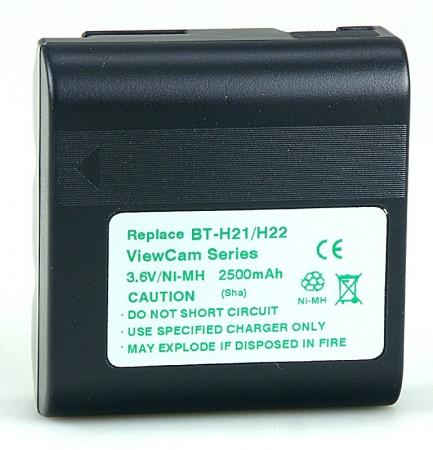 Power3000 PB321D.25H - acumulator Ni-Mh tip BT-H21 / BT-H22 pentru camere video Sharp, 2500mAh