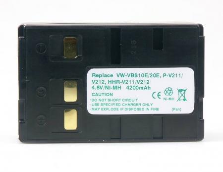 Power3000 PB330B.21H - acumulator Ni-Mh tip VW-VBS10E,VW-VBS20,VW-VBS20E pentru camere video Panasonic, 4200mAh