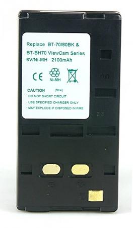 Power3000 PB820B.21H - acumulator Ni-Mh tip  BT-70/BT70BK/BT-80BK/BT-80SBK/BT-BH70 pentru camere video Sharp, 2100mAh