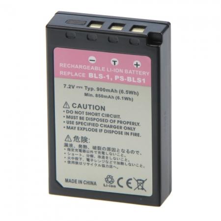 Power3000 PL106B.531 - acumulator tip BLS-1, PS-BLS1 pentru Olympus, 900mAh