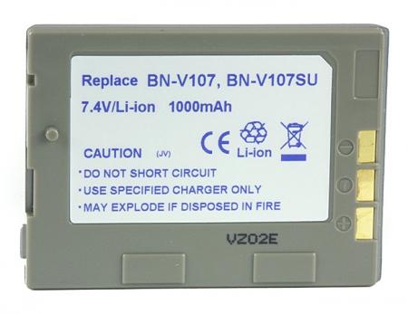 Power3000 PL108S.309 - acumulator tip BN-V107 pentru JVC, 950mAh