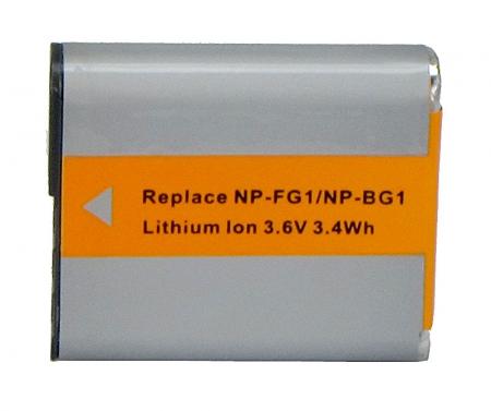 Power3000 PL182G.843 - acumulator tip NP-FG1/NP-BG1 pentru camere foto Sony, 960mAh
