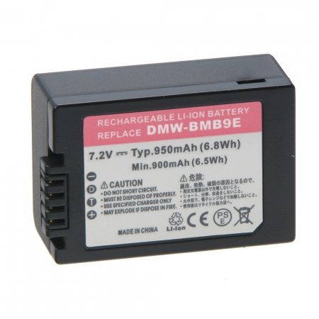 Power3000 PL190B-825 - acumulator replace tip Panasonic DMW-BMB9, 950mAh