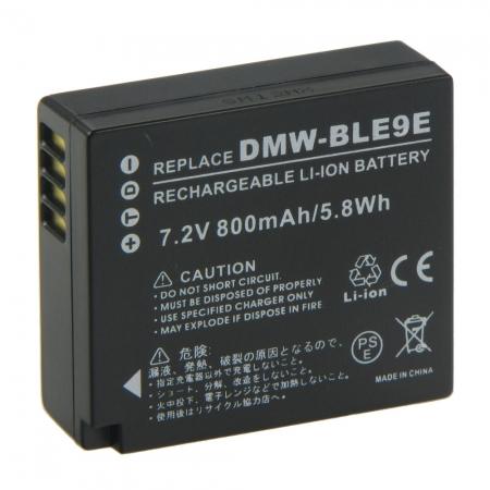 Power3000 PL197B-532 - acumulator replace tip DMW-BLE9/DMW-BLE10 pentru Panasonic, 800mAh