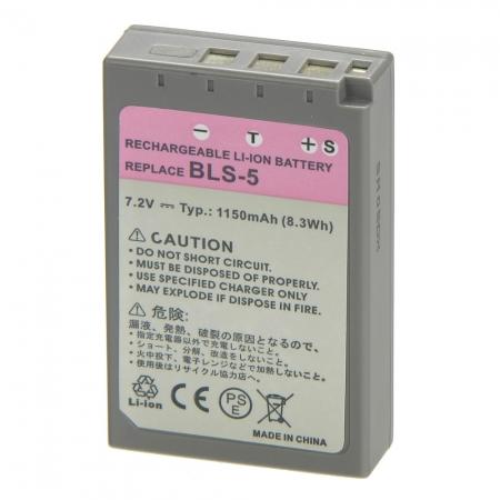 Power3000 PL206G-053 - Acumulator replace tip Olympus BLS-5, 1150mAh